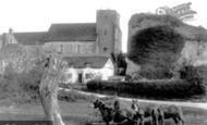 Amberley, St Michael's Church And Castle 1906