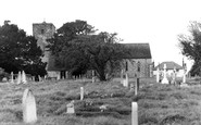 Amberley, St Michael's Church c.1960