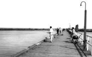 Amble, The Pier c.1965