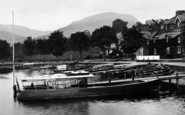 Ambleside, Boats At Waterhead 1926