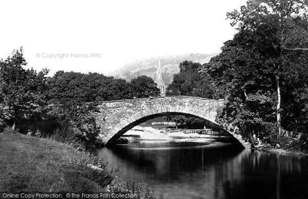 Ambleside, Rothay Bridge 1888