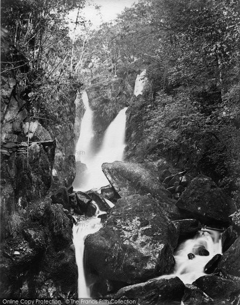 Ambleside, Stock Ghyll Force c.1867