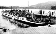 Ambleside, The Waterhead Ferry 1912