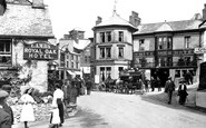 Ambleside, The White Lion And Royal Oak Hotels 1912