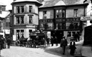 Ambleside, The White Lion Hotel 1912