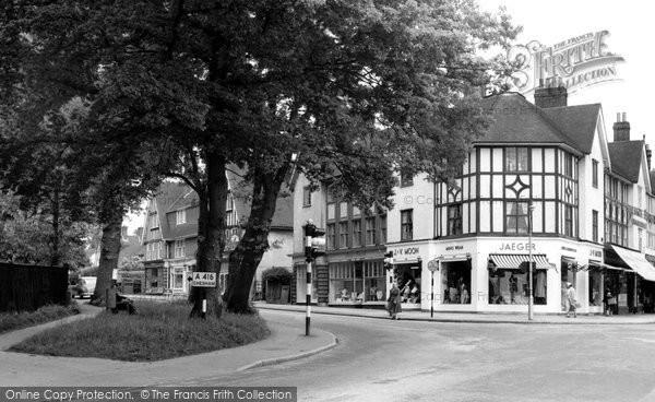 Amersham, Chesham Road c.1955