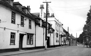 Amesbury, Church Street c.1950