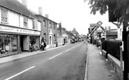 Amesbury, High Street c.1955