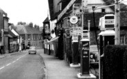 Amesbury, High Street, Petrol Station c.1955