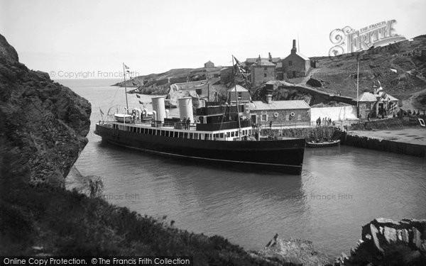 Amlwch, The Boat Calling c.1935