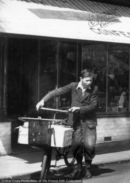 Ammanford, A Delivery Boy 1937