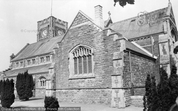 Ammanford, All Saints Church c.1960