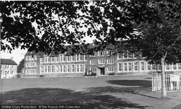 Ammanford, Amman Valley Grammar School c.1955