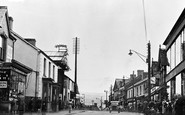 Photo of Ammanford, College Street c1955