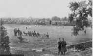 Ammanford, Cricket Field c.1950