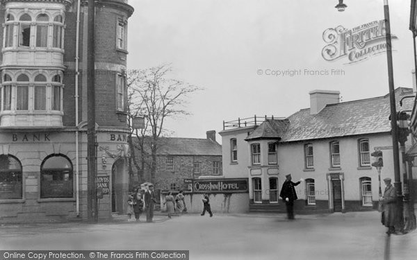 Ammanford, The Square From High Street c.1955