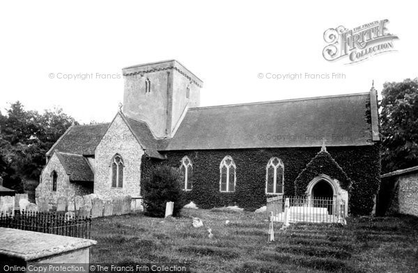 Amport, St Mary's Church 1898