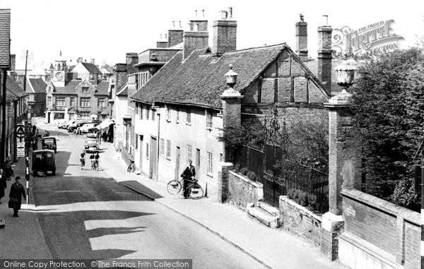 Ampthill, Church Street c.1955