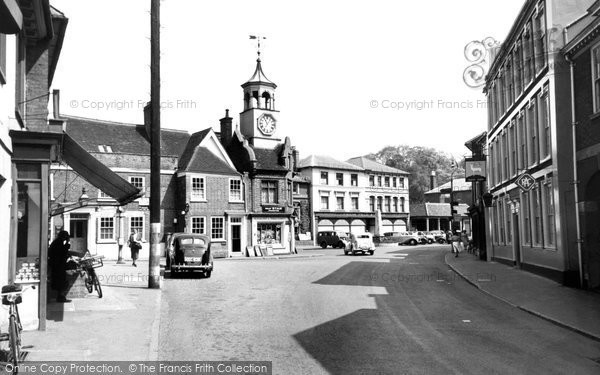 Photo of Ampthill, Market Place c1955