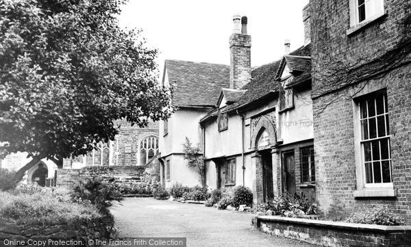 Ampthill, The Almshouses c.1955