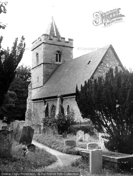 Amwell Hill, The Church Of St John The Baptist c.1955