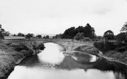 Ancrum, Old Bridge, Cleekimin c.1955