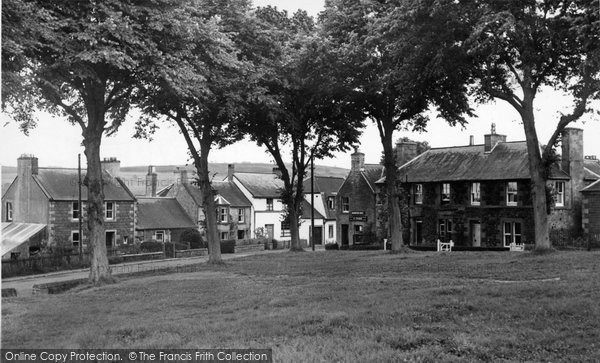 Ancrum, The Green c.1955