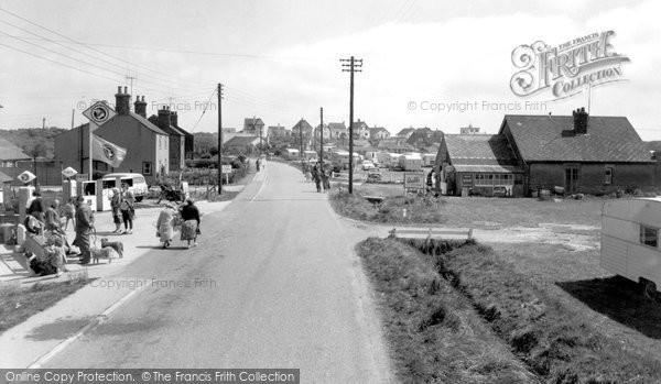 Anderby Creek, Beach Road c.1960