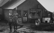 Anderby Creek, Couple At Rose's Stores c.1960