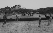 Anderby Creek, Cricket On The Beach c.1965