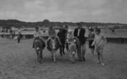 Anderby Creek, Donkey Rides c.1960