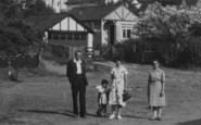 Anderby Creek, Family At The Dell c.1955