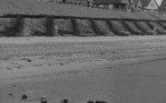 Anderby Creek, Father And Son On The Beach c.1955