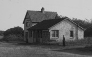 Anderby Creek, House At The Dell c.1955