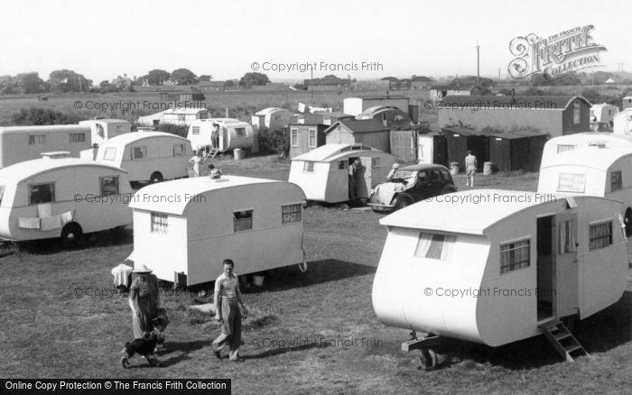 Anderby Creek, Roses Caravan Camp c.1955
