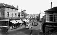 Andover, Bridge Street From Level Crossing 1939