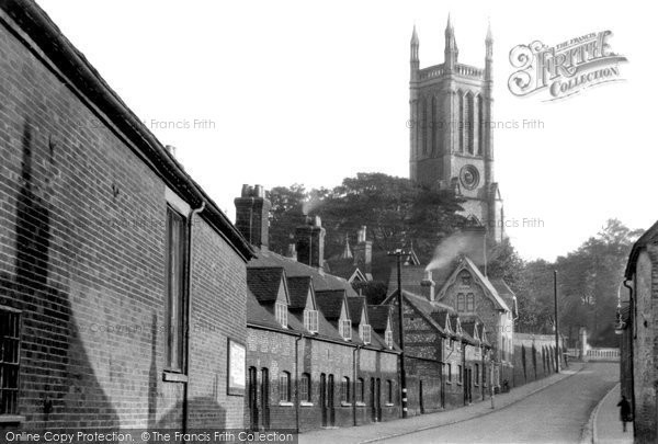 Andover, Church Hill c.1955