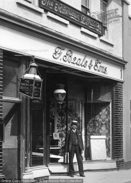 Andover, Dentist, London Street 1904