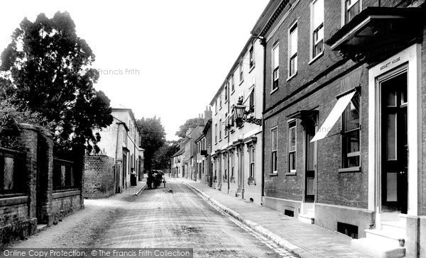 Andover, East Street 1904