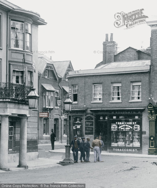 Andover, High Street 1904