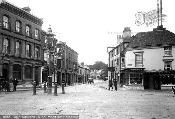 Andover, High Street 1906