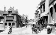 Andover, High Street 1908