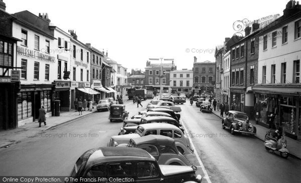 Andover, High Street 1955