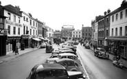 Andover, High Street 1955