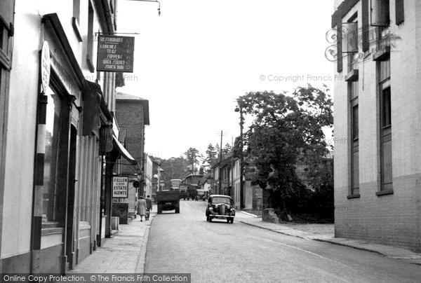 Andover, London Street c.1955