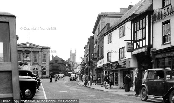 Andover, Lower High Street 1950