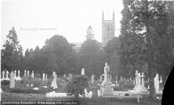 Andover, St Mary's Church c.1910
