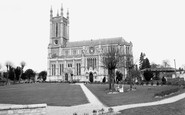 Andover, St Mary's Church c.1960