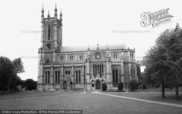 Andover, St Mary's Church c.1965
