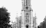 Andover, St Mary's Parish Church 1899